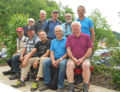 Handball Senioren auf Ausflug in der Fränkischen Schweiz