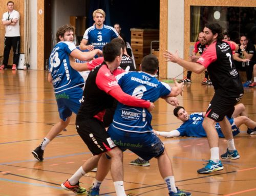 Handballkrimi in der Weibertreuhalle