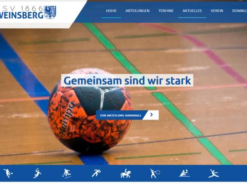 TSV modernisiert Internet-Auftritt