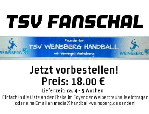 TSV Fanschal – jetzt vorbestellen!